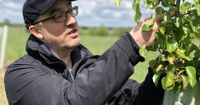 Agrarökologe Ralf Bloch